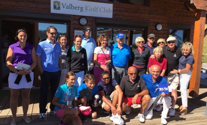 La coupe NAPA au Valberg Golf Club