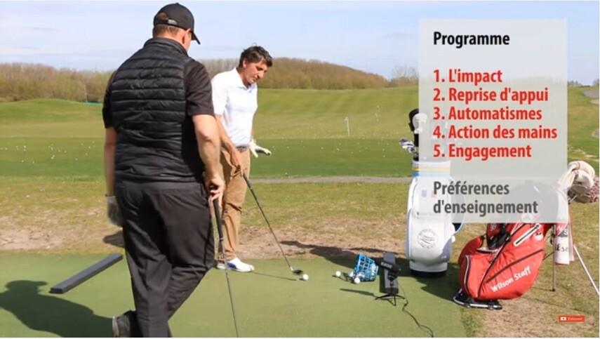 Video Birdie Clinic Technique avec Christian Ledan au Golf National