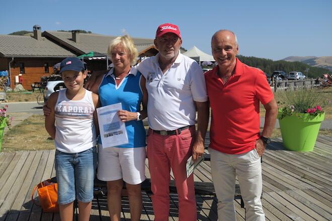 Trophée Golf Méditerranée 2017 au Valberg Golf Club