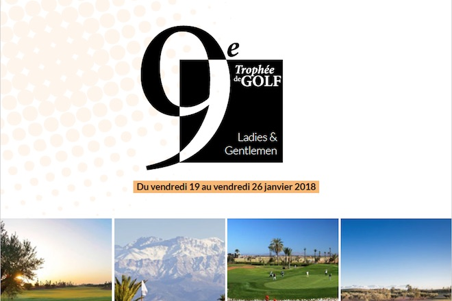 Trophée Golf Ladies et Gentlemen au Domaine des Remparts MarrakechTrophée Golf Ladies et Gentlemen au Domaine des Remparts Marrakech