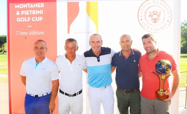 Montaner et Pietrini Golf Cup au Old Course