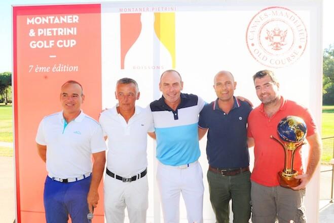 Montaner et Pietrini Golf Cup au Old Course