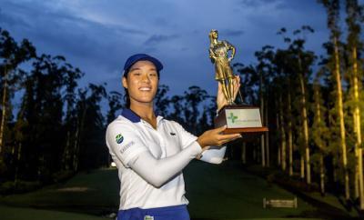 Céline Boutier wins inaugural Australian Ladies Classic Bonville