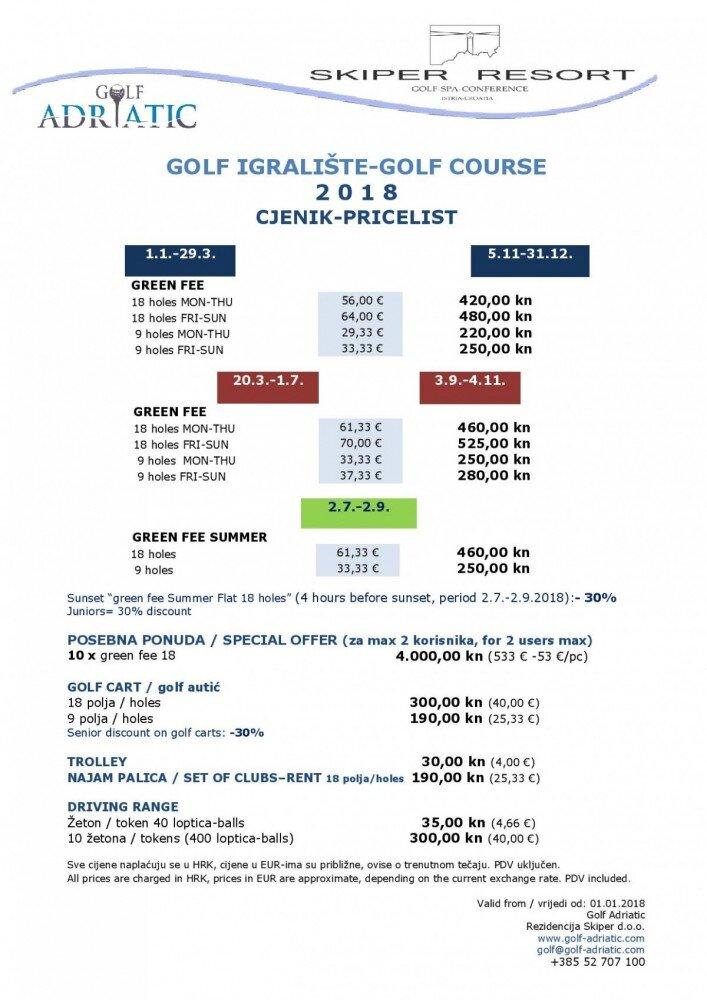 Adriatic Golf Course