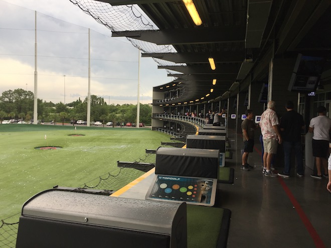 TOPGOLF un immense succès au USA