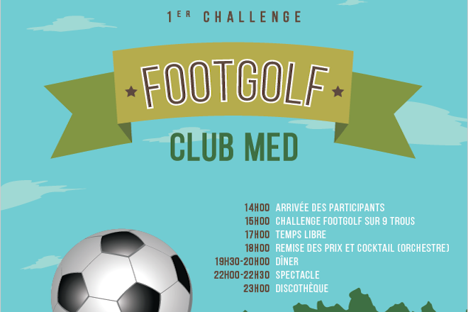 Challenge Golf Foot Club Med Opio