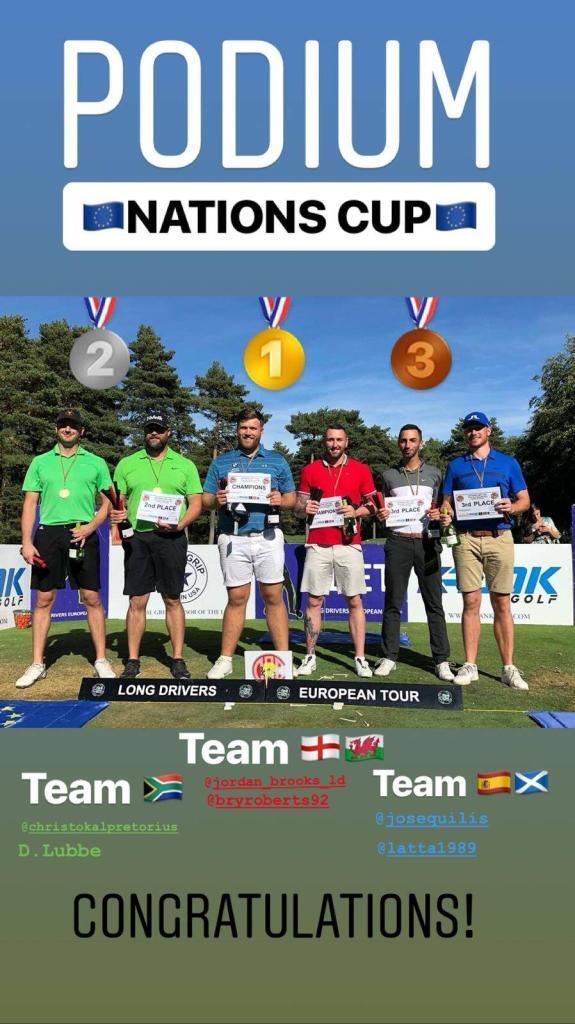 Long Drivers European Tour at Taulane step 8