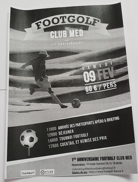 FOOTGOLF CLUB MED OPIO