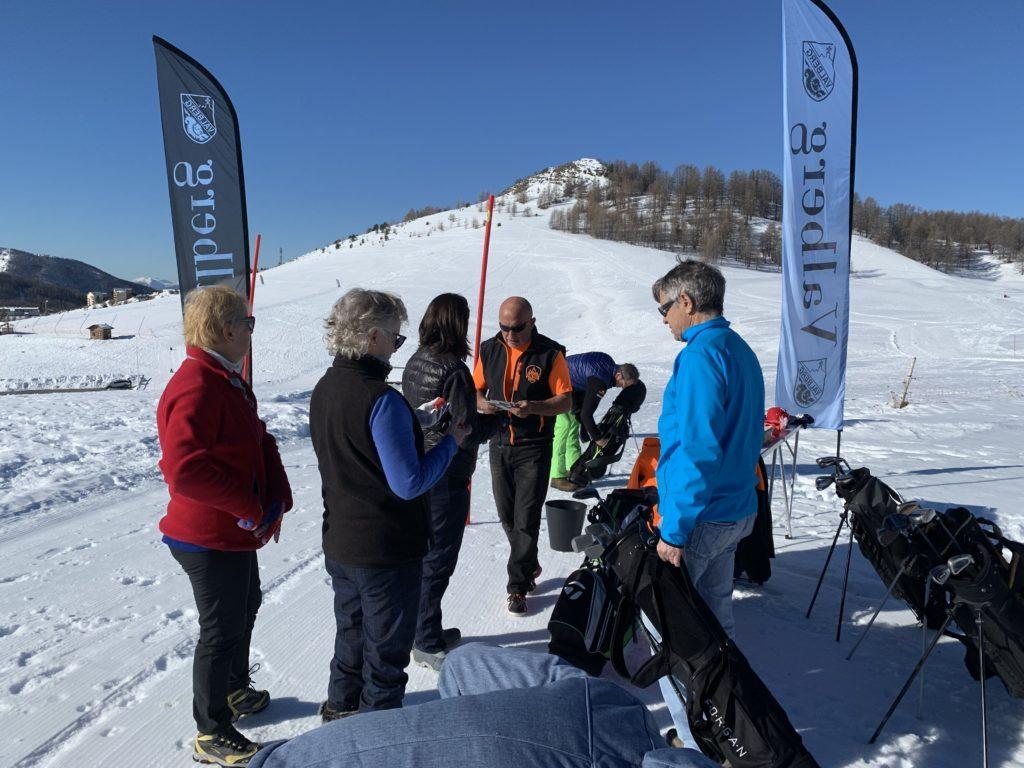 Snow Golf à Valberg