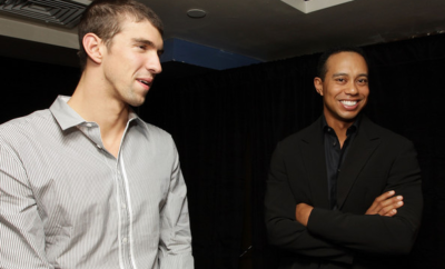 Michael Phelps - Tiger Woods
