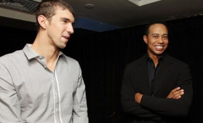Michael Phelps - Tiger Woods