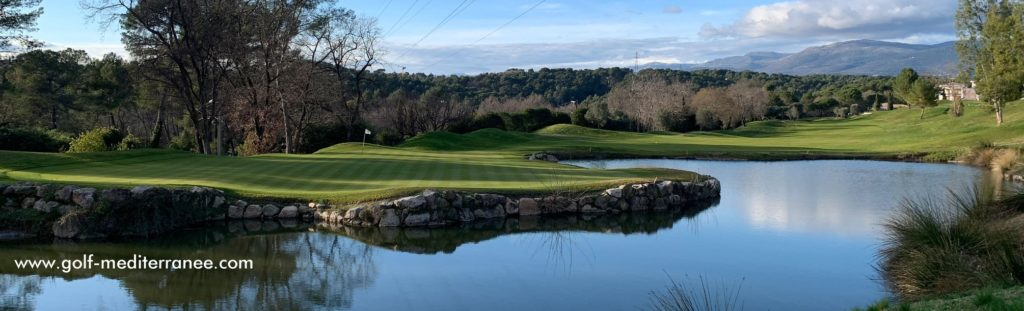 Royal Mougins Golf Club Trou n°4