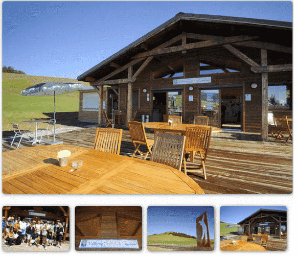 Club House Valberg Golf Club montagne