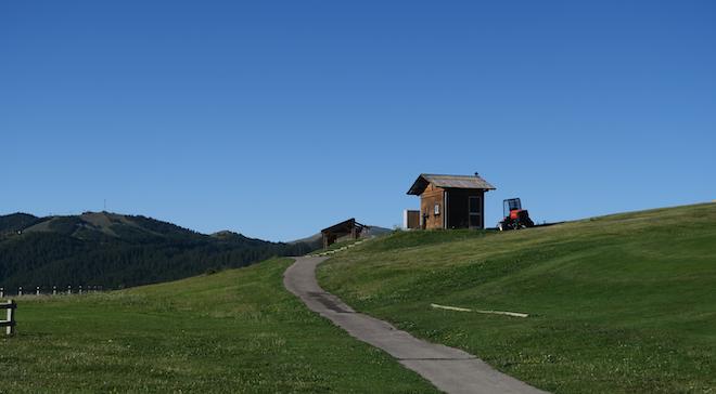 Practice Valberg Golf Club montagne
