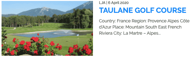 Golf and Mountain France