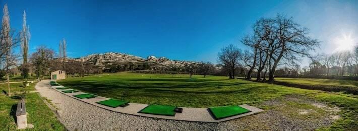 Golf de Servanes - Le practice