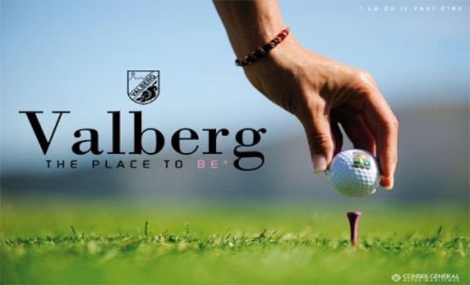 Golf de montagne en France Valberg Golf Club