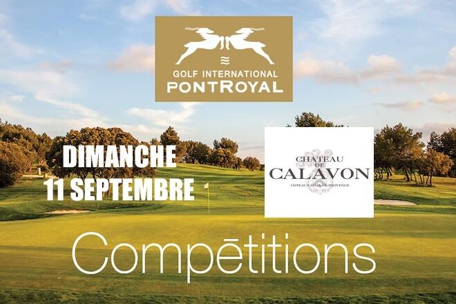 Trophée Château CAVALON au Golf de Pont Royal