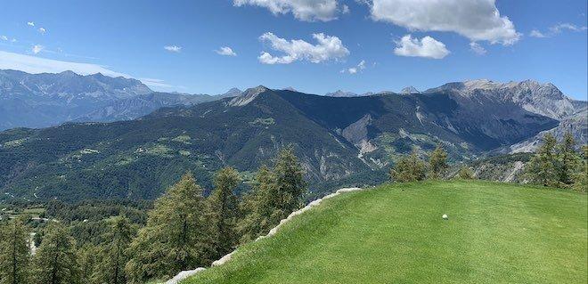 golf Valberg Trou n°3