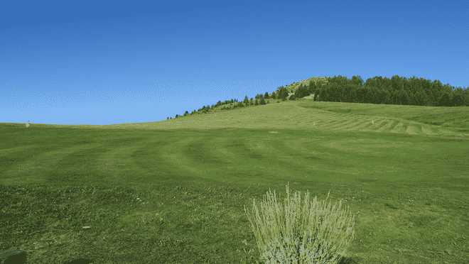 Valberg Golf Club, le practice