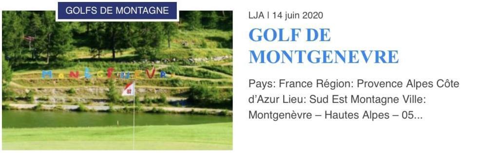 Golf de Montgenèvre