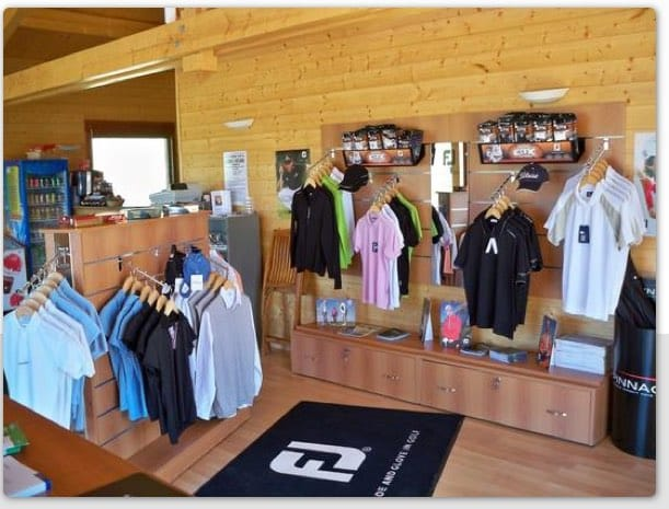 Valberg Golf Course, the club house