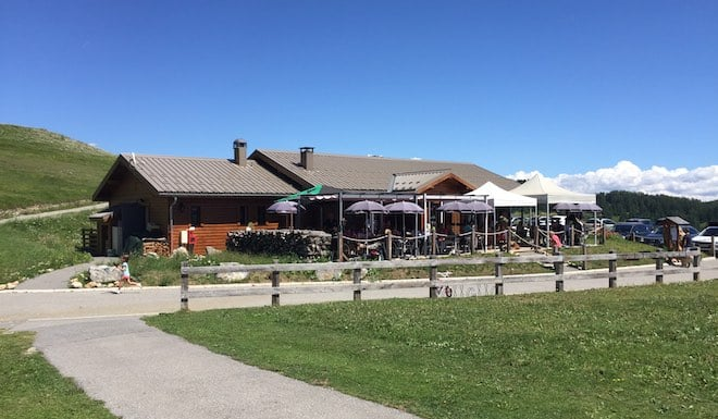 Valberg Golf Course, the restaurant