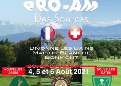 PRO-AM DES SOURCES 2021