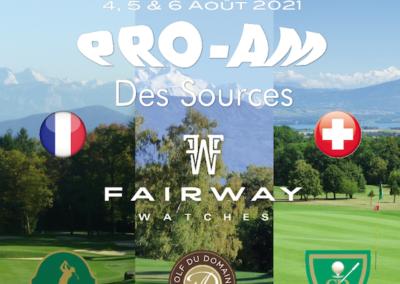 PRO-AM DES SOURCES FAIRWAY WATCHES