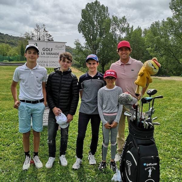 Romain BÉCHU au golf de La Vanade